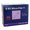 BD Micro Fine+ U100 Ins.Spr.8mm, 100X0.5 ML, Becton Dickinson GmbH