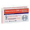 PARACETAMOL 250 mg HEXAL Zäpfchen, 10 ST, Hexal AG