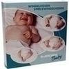 SPREIZHÖSCHEN Gewebe f.Neugeboren.Gr.1 weiß/blau, 1 ST, Dr. Junghans Medical GmbH