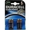 Duracell Ultra Power-AAA(MN2400/LR03)K4 m Powerch., 4 ST, Duracell Germany GmbH