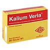 Kalium Verla Granulat, 20 ST, Verla-Pharm Arzneimittel GmbH & Co. KG
