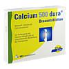 Calcium 500 Dura Brausetabletten, 100 ST, Mylan dura GmbH