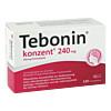 Tebonin Konzent 240mg Filmtabletten, 120 Stück, Dr.Willmar Schwabe GmbH & Co. KG