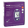Beurer GL 44 Blutzuckermessgerät lila mmol/l, 1 ST, Beurer GmbH Gesundheit und Wohlbefinden