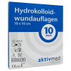 AKTIVMED Hydrocolloidwundauflage 10x10 cm, 10 ST, Aktivmed GmbH