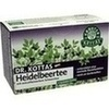DR. KOTTAS Heidelbeertee Filterbeutel, 20 ST, Hecht Pharma GmbH GB - Handelsware