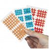 Gitter-Tape AQ-Strip 4.5x4.5cm 6 Bl a 2 Pflaster, 6X2 ST, Diaprax GmbH