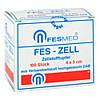 Zellstofftupfer FES-Zell 4x5cm HGBL, 100 ST, Fesmed Verbandmittel GmbH