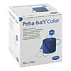 Peha-haft Color Fixierbinde latexfrei10cmx20m blau, 1 ST, Paul Hartmann AG