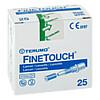 Terumo Fine Touch Lanzetten, 25 ST, Actipart GmbH