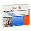 Hustenstiller-ratiopharm Dextromethorphan, 10 Stück, ratiopharm GmbH