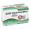 BD MICRO-FINE ULTRA Pen-Nadeln 0,23x4 mm, 100 ST, Becton Dickinson GmbH