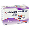 BD MICRO-FINE ULTRA Pen-Nadeln 0,25x5 mm, 100 ST, Becton Dickinson GmbH
