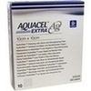AQUACEL Ag Extra 10X10CM, 10 ST, Convatec (Germany) GmbH