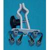 Krücken- + Stockhalter universal mit Praxhalterung, 1 ST, Groß GmbH