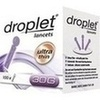 OMRON droplet lancets ultra thin 30G, 100 ST, Hermes Arzneimittel GmbH