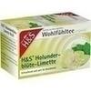 H&S Wohlfühltee Holunderblüte-Limette Filterbeutel, 20 ST, H&S Tee - Gesellschaft mbH & Co.