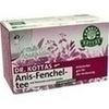 DR. KOTTAS Anis-Fenchel Tee Filterbeutel, 20 ST, Hecht-Pharma GmbH