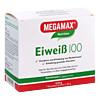 Eiweiss 100 Cappuccino Megamax, 7X30 G, Megamax B.V.