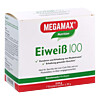 EIWEISS 100 Himbeer Megamax Pulver, 7X30 G, Megamax B.V.