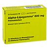 ALPHA LIPOGAMMA 600 mg Filmtabletten, 30 Stück, AAA - Pharma GmbH
