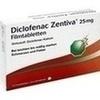 Diclofenac Zentiva 25 mg Filmtabletten, 10 ST, Zentiva Pharma GmbH