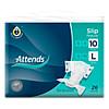 Attends Slip Regular 10 Large, 26 Stück, Attends GmbH
