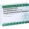 Pantoprazol AbZ bei Sodbrennen 20 mg mag.saft.r.T., 14 Stück, Abz-Pharma GmbH