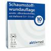 aktivmed Schaumstoffwundauf.sens.silik.Haft7.5x7.5, 10 ST, Aktivmed GmbH