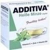 ADDITIVA Heiße Minze + Apfel, 120 G, Dr.B.Scheffler Nachf. GmbH & Co. KG