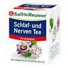 Bad Heilbrunner Schlaf- und Nerven Tee, 8X1.75 G, Bad Heilbrunner Naturheilmittel GmbH & Co. KG