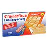 Wundpflasterfamilienpackung 6 Größen, 51 ST, Axisis GmbH