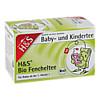 H&S Bio Fencheltee Baby- und Kindertee, 20X1.8 G, H&S Tee - Gesellschaft mbH & Co.