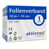 aktivmed Folienverband 10m x 10cm, 1 ST, Aktivmed GmbH