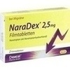NaraDex 2.5 mg Filmtabletten, 2 Stück, Dexcel Pharma GmbH