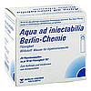 Aqua ad iniectabilia Berlin-Chemie Plastik, 20 × 10 Milliliter, Berlin-Chemie AG