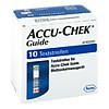 Accu-Chek Guide Teststreifen, 1X10 ST, Roche Diabetes Care Deutschland GmbH