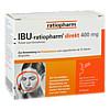 IBU-ratiopharm direkt 400 mg Pulver zum Einnehmen, 20 Stück, ratiopharm GmbH