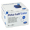 PEHA-HAFT Color Fixierbinde latexf.6 cmx20 m blau, 1 ST, B2b Medical GmbH