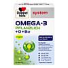 Doppelherz Omega-3 Pflanzlich system, 60 ST, Queisser Pharma GmbH & Co. KG