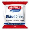 MEGAMAX DIAET DRINK Schok. Einzelport., 42 G, Megamax B.V.