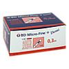 BD MICRO-FINE+ Insulinspr.0.3 ml U100 0.3x8 mm, 100 ST, Docpharm Arzneimittelvertrieb GmbH & Co. KG Aa