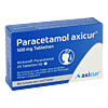 Paracetamol axicur 500 mg Tabletten, 20 Stück, Axicorp Pharma GmbH