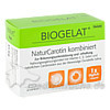 Biogelat NaturCarotin kombiniert Biogelat Kapseln, 60 Stk., KWIZDA PHARMA GMBH