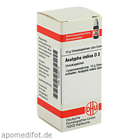 ACALYPHA INDICA D 3, 10 G, Dhu-Arzneimittel GmbH & Co. KG