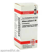 ALLIUM SATIVUM C30, 10 G, Dhu-Arzneimittel GmbH & Co. KG