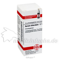 AURUM CHLORATUM C12, 10 G, Dhu-Arzneimittel GmbH & Co. KG