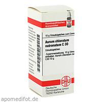 AURUM CHLORATUM NATRON C30, 10 G, Dhu-Arzneimittel GmbH & Co. KG