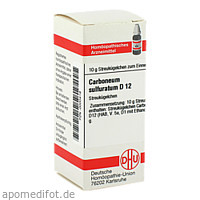 CARBONEUM SULFUR D12, 10 G, Dhu-Arzneimittel GmbH & Co. KG
