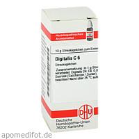 DIGITALIS C 6, 10 G, Dhu-Arzneimittel GmbH & Co. KG